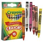 Crayola 16 Count Classic Crayons (Case of 48)
