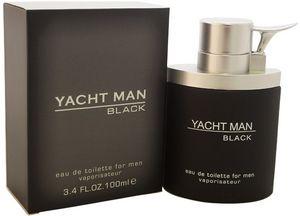 Custom Men Myrurgia Yacht Man Black EDT Spray 3.4 oz