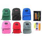Custom Pre-Filled 17 Classic PureSport Backpack & High School Supply Kit Set