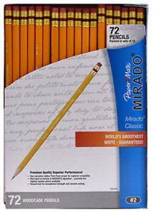 Custom Papermate Mirado #2 Pencils - 72ct