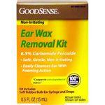 Custom GoodSense Ear Wax Remover Kit 0.5 oz. Bulb