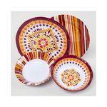 Custom Fall Color Plate & Bowl Set