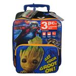 Custom Guardians of the Galaxy 3 Piece Rolling Luggage