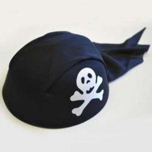 Custom Pirate Hat Felt w/Skull