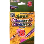 Premium Crayons - 8 Count (Case of 72)
