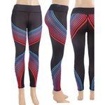 Custom Yoga Pants with Gradient Stripe
