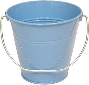 Custom Metal Bucket - Light Blue Solid Colors (4.3 x 4.3)