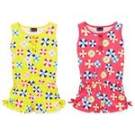 Custom Infant Girl's Candy Print Knit Rompers - Size 12-24M