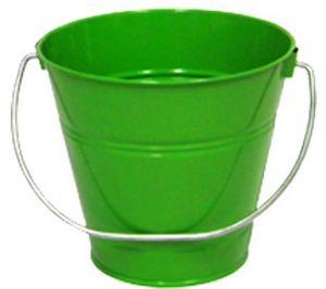 Custom Metal Bucket - Green (7.5 x 7.5)