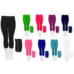 Custom Women's Capri Leggings with Accessory - Assorted