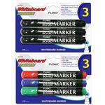 Custom 3 pack Whiteboard Markers