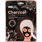 Custom Beauty Treats Charcoal Purifying Facial Sheet Mask
