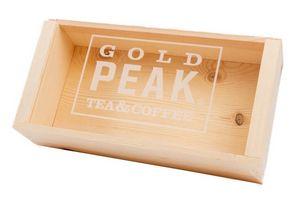 Acrylic Slide Top Wood Crate