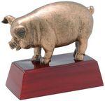 Custom Pig Resin Award - 4