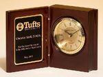 Custom Mahogany Book Clock 4 1/4