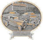 Custom Car Show Legend Resin Award 8