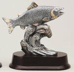 Custom Fish Pewter Figurine- 6