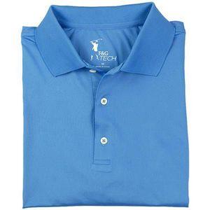 Fairway & Greene Men's Solid Tech Jersey Polo