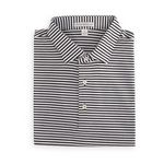 Custom Peter Millar Men's Classic Stripe Cotton Lisle K.. (BLACK / WHITE)