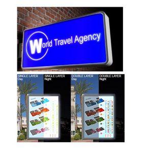 Adhesive Vinyl Signage - Translucent Vinyl for Backlit Sign Applications