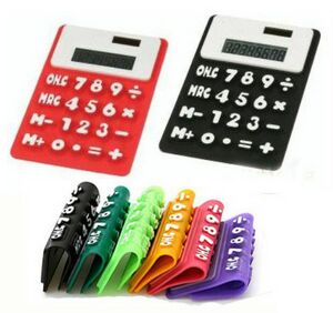 Custom Printed 1 Day Service Large Solar Powered Calculators