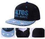 Custom Cotton 6-panel Medium Profile Baseball Hat