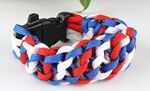 Custom Flag Paracord Bracelet