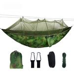Custom Outdoor portable camping hammock with mosquito net