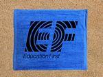 Royal Blue Velour Rally Towel (15