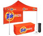 Custom 10'x 10' Outdoor Printed Canopy Starter Kit