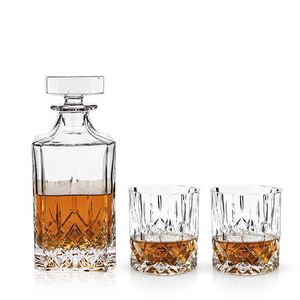 Admiral 3-piece Decanter and Tumbler set