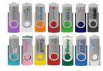 Custom 2 GB Classic Swivel USB Drive w/Silver Clip