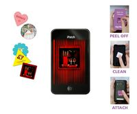 """Full Color Screen Cleaner Sticker - Square Shape (1.18"""" x 1.18"""")"""