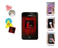 "Full Color Screen Cleaner Sticker- Heart Shape (1.18"" Dia.)"