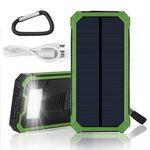 Custom Pinnacle 10000 mAh Solar Power Bank