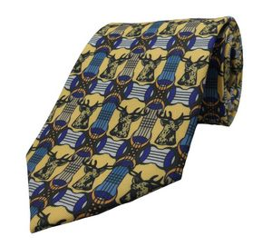 Silk Custom Digital Printed Youth neck Tie
