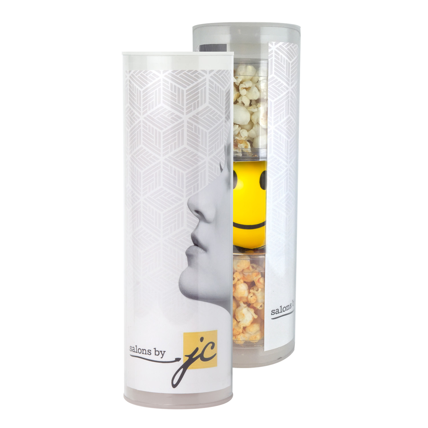 3-Piece Stress Relief Popcorn Gift Tube, 3TUBE-SRP, Full Colour Imprint