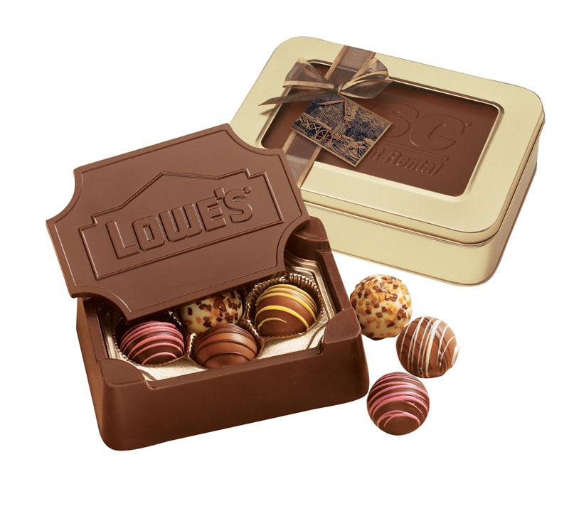 Small Chocolate Box, SCB, Chocolate Mold Imprint