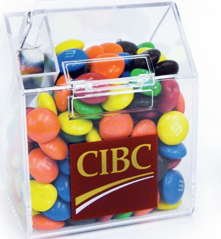 Small Candy Bin Filled w/ Jelly Beans, PK-994, One Colour Imprint