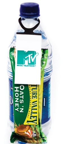 Oats & Honey Granola Bar Hang-Itz Bottle Tag, MS-370, One Colour Imprint