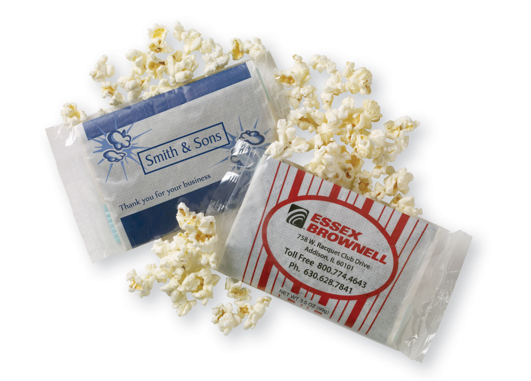 Personalized Popcorn Bag, MPOP, One Colour Imprint