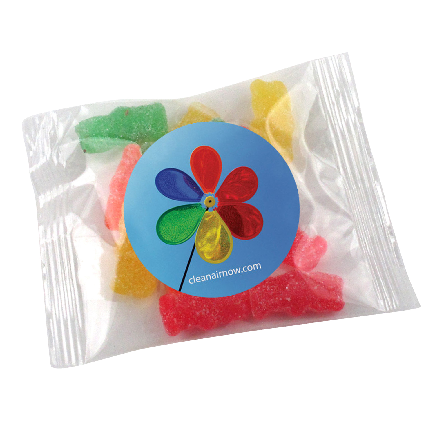 1 Oz. Goody Bag Sour Patch Kids, GB-SPK, Full Colour Imprint