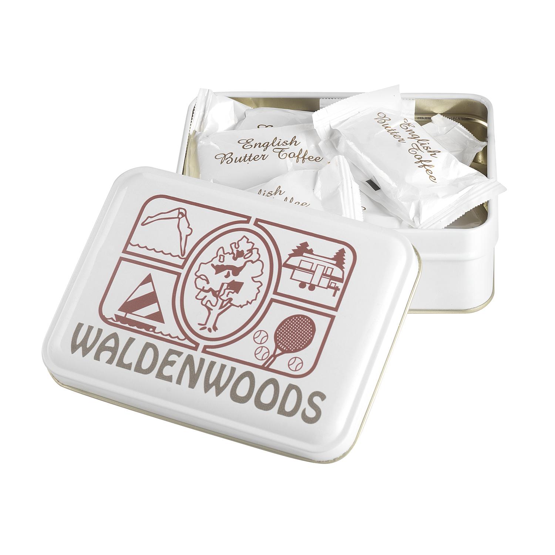 Keepsake Gift Tin w/ English Butter Toffee, 310-EBT, Full Colour Imprint