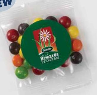 1 Oz. Goody Bag Skittles, GB-SKIT, Full Colour Imprint