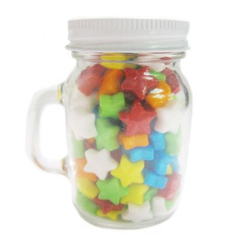 3.25 Oz. Glass Mini Mason Jars w/Starzmania, MMJ-SMN, One Colour Imprint