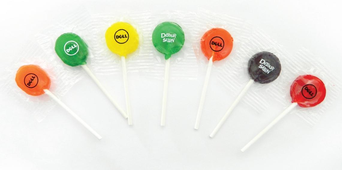 Junior Ad Pop Lollipop, CN-765, One Colour Imprint