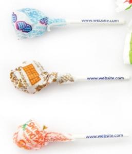 Dum Dums Lollipop, CN-630, One Colour Imprint