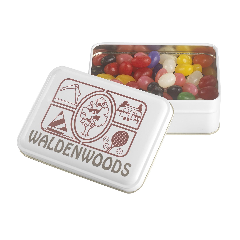 Keepsake Gift Tin w/ Jelly Beans (Assort.), 310-JEL, Full Colour Imprint