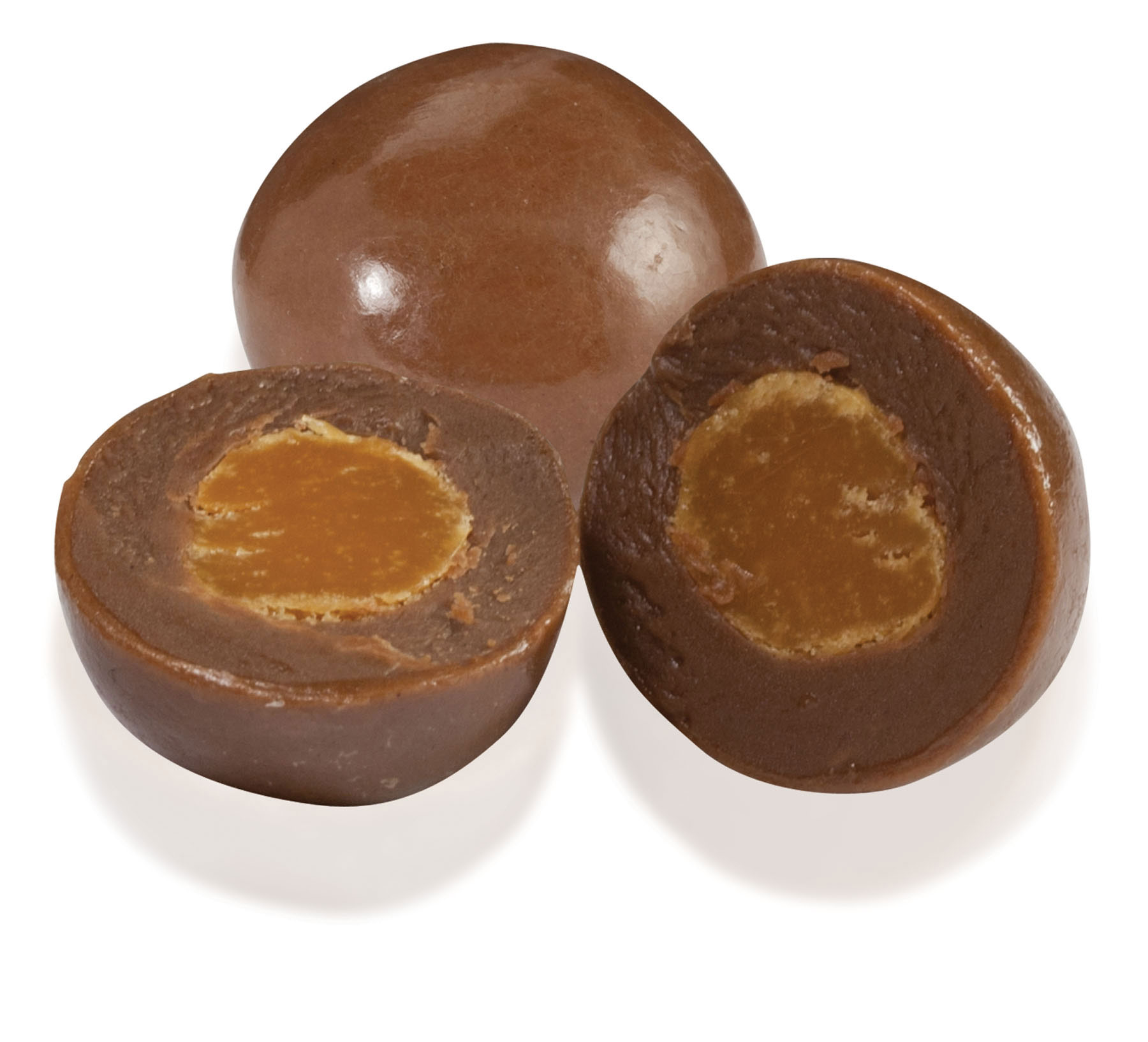 Chocolate Caramel Bites Individually Wrapped, PP-CCB, One Colour Imprint