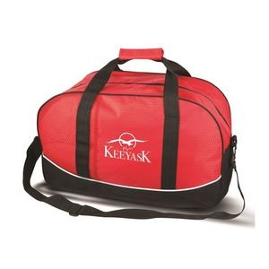 The Journeyer Travel Bag - Red